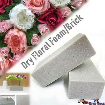 6x Floral Foam Dry Brick Water Absorbent Grey Flower Arrangement Craft OZ