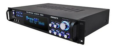 2000W DJ HOME THEATER DIGITAL STEREO RECEIVER PRE AMP AMPLIFIER AM/FM iPOD NEW