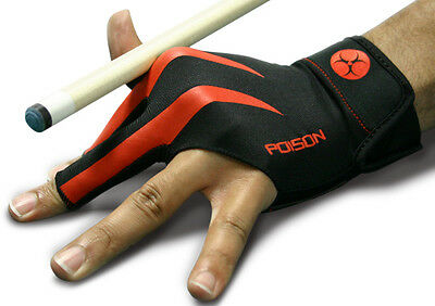 New Poison Logo Pool Glove - large / ex large - Left Hand - L/XL One Size