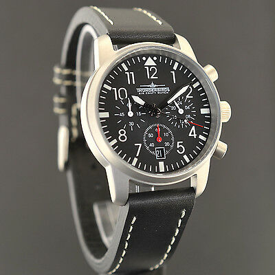Thunderbirds Multi  Pro  Chronograph Air Craft Fliegeruhr Pilot Watch 1067/2