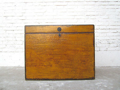 Natural wood small honey brown Chest Cottage Style only by  China Luxury Park