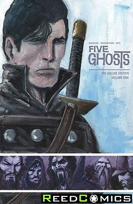 FIVE GHOSTS VOLUME 1 DELUXE EDITION HARDCOVER New Harback Collects Issues #1-12
