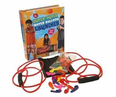 The Super Duper Water Balloon Launcher Kit: Ready! Aim! Splash! by H. Too Oh