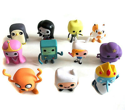 Funko Pop TV  ADVENTURE TIME COLLECTION OF 11 figures set,  some rares