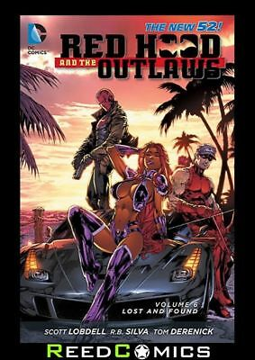 Red Hood And The Outlaws Volume 6 Lost And Found Graphic Novel (2011) #32-34