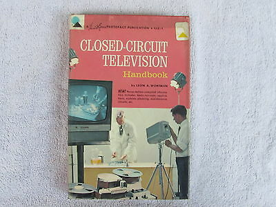 Closed-Circuit Television  Photofact 1964 First Edition Hardcover ****** Box - E