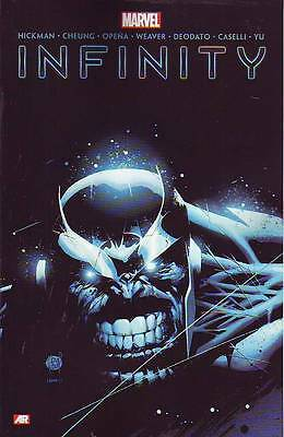 Infinity trade paperback Marvel Comics Thanos Avengers Guardians of the Galaxy
