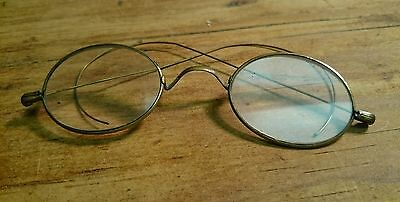 Vintage Wire frame glasses with intact lens
