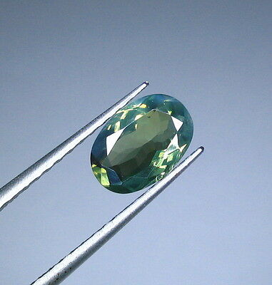 Untreated Ceylon Apple Green Alexandrite  1.53 Ct. Certified (00430/EGL25044)