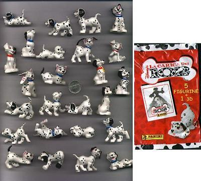 RARE SET 25 Figures 101 102 DALMATIANS from PANINI ITALY Official DISNEY MINT !!