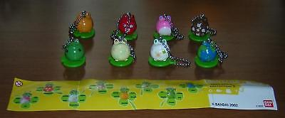 BANDAI Gashapon SET 8 Figures FROG STYLE PART 2 Dangler