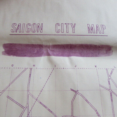 RVN_SAIGON CITY MAP_Old streets name _  pre 1975_DURING VIETNAM WAR
