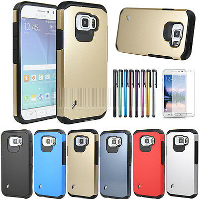 Armor Hybrid Hard Protective Rubber Case Cover For Samsung Galaxy S6 Active G890