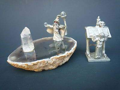 Spoontiques Set Pewter Wizard And Student