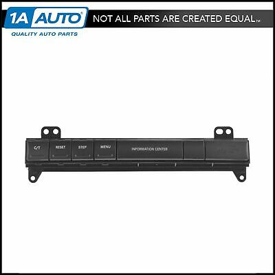 OEM 56050093AC Information Center Dash Switch Panel Assembly for Jeep SUV New