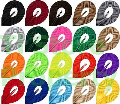 2 x Round Athletic Shoe String shoelace Sneaker 27 36 45 54 inch ROUND SHOELACES