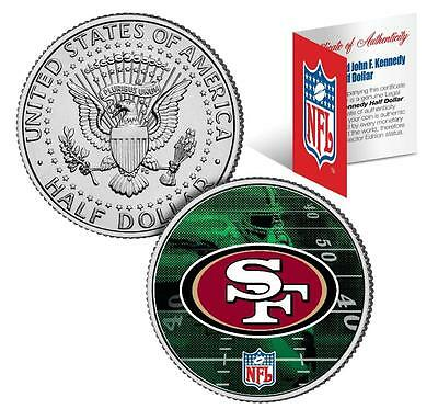San Francisco 49ers NFL JFK U.S. Half Dollar Coin