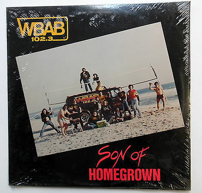SON OF HOMEGROWN Sealed LP Long Island HEAVY METAL 1982 Hard Rock compilation