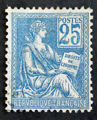Timbre FRANCE / FRENCH Stamp - Yvert et Tellier n°114 obl (Cyn21)