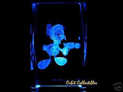 3D LASER CRYSTAL LOONEY TOONS, MARVIN THE MARTIAN