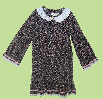 Vintage Baby Clothes I. MAGNIN Bohemian Style Country Dress