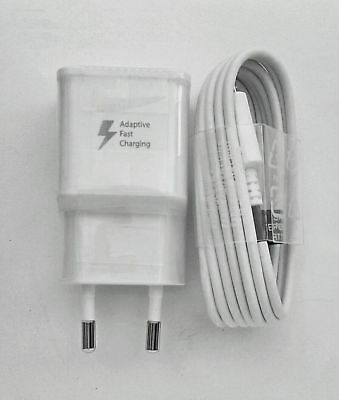 Original Samsung EU Charger Fast Charging For Galaxy Note 4 Edge S6 S7 A5