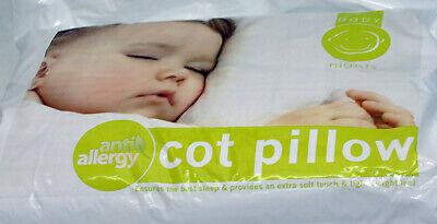 New Nursery Baby Junior Toddler Anti Allergy Cot Pillow