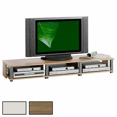 Meuble TV, 2 niches, 2 coloris disponibles