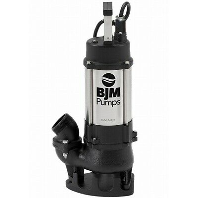 BJM Electric Vortex Submersible Trash Pump BJM Industrial 2""