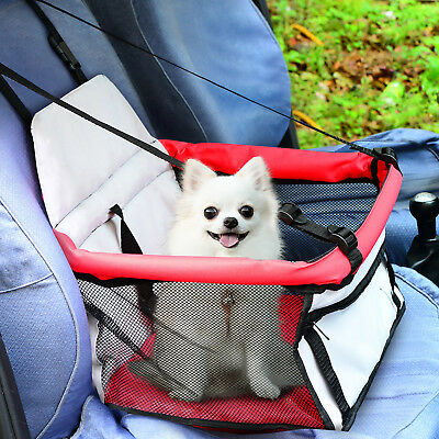 Carrier Bag Dog Cat Puppy Pet Car Seat Protection Bike Tote Soft Sided Kennel