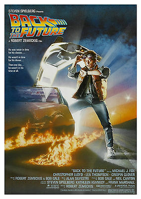 Back to the Future (1985) - A1/A2 Poster **BUY ANY 2 AND GET 1 FREE OFFER**