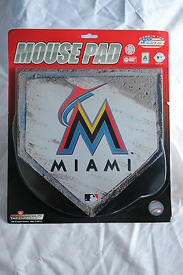 Miami Marlins Home Plate Mouse Mat