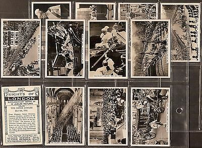 Pattreiouex-Large Card Set- Sights Of London Supplement - Exc