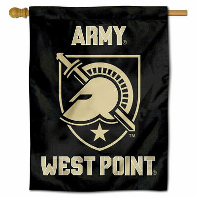 Army Black Knights Two Sided Athena Shield House Flag