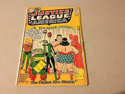 JUSTICE LEAGUE OF AMERICA #7 Silver Age comic Last 10 cent Issue