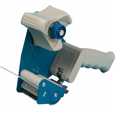 "Heavy-Duty Packaging Tape Dispenser  Gun With Adjustable Break 2"" Width Packing"