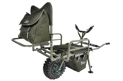 Prestige Carp Porter NEW Model MK2 Fatboy All Terrain Fishing Barrow + COVER!