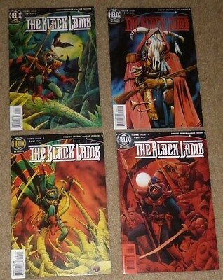The Black Lamb. #s 1, 2, 3 & 6 (1997,DC)