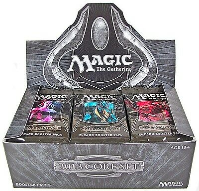 1 MAGIC THE GATHERING CCG 2013 CORE SET Cards Factory Sealed Booster MTG NEW