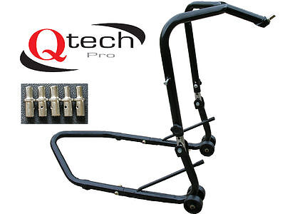 Motorcycle HEADSTOCK Head Lift Paddock Motorbike bike STAND Track