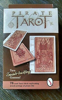 Pirate Tarot Card Deck *NEVER USED* 2 Games in 1 & Free Shipping!!!