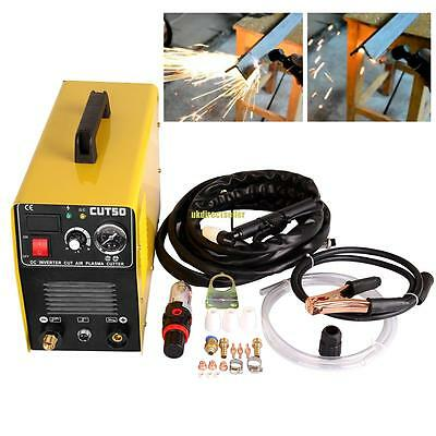 CUT50 Air Plasma Cutter Inverter Digital Cutting Electric Machine 50AMP Portable