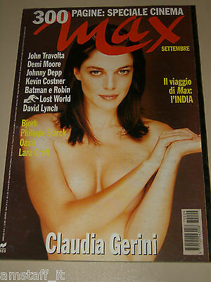 Claudia Gerini=Lara Croft=The Oasis=Batman E Robin=Magazine Max Italy=1997