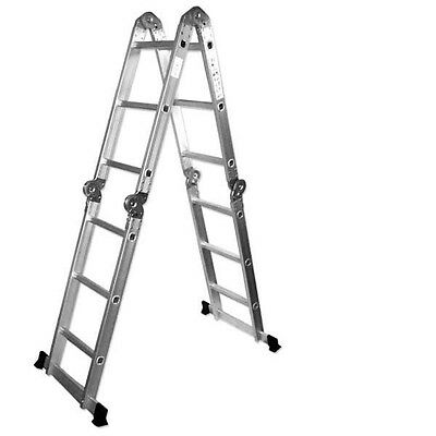 Multi Purpose Aluminum Folding Ladder FindingKing