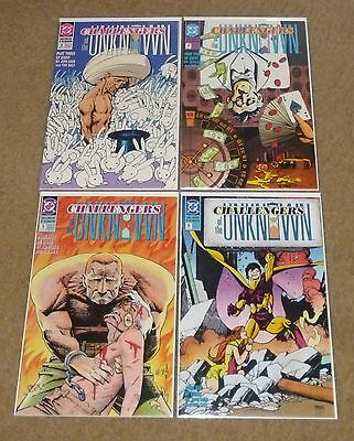 Challengers of the Unknown #'s 3, 4, 5 & 6 (1991, DC)