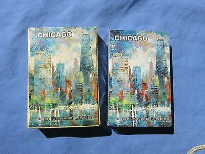 Delta Airlines Playing Cards  Sealed  Chicago