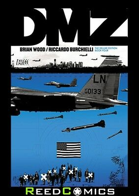 DMZ DELUXE EDITION BOOK 4 HARDCOVER Brian Wood New Hardback Collects #45-59
