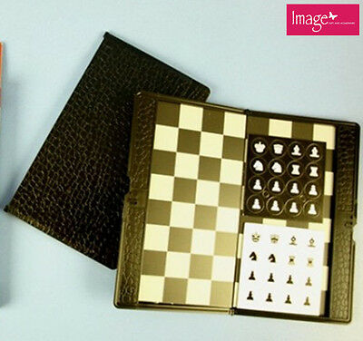 Traveller Plane Magnetic Chinese Checkers Set Portable Pocket Size Chess KD15061