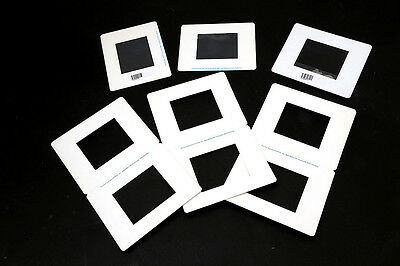 20 WHITE CARD MOUNTS FOR 70mm transparencies / slides / pictures NEW + 10 FREE