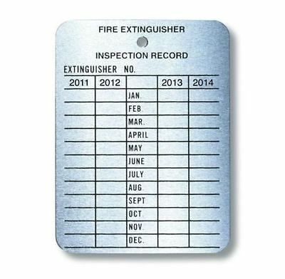 Fire Extinguisher Inspection Tag - PREVIOUS YEARS -  GRAB-A-DEAL